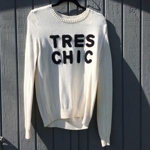 White/cream sweater